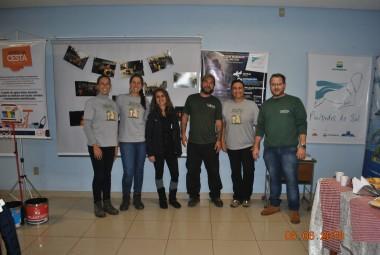 Projeto Pinípedes do Sul participa do evento