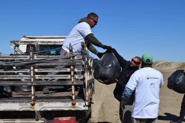O Projeto Pinípedes do Sul e outros 22 projetos patrocinados pela Petrobras convidam voluntários para as ações do Dia Mundial de Limpezas de Praia no RS