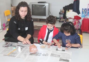 Projeto Pinípedes do Sul realiza atividades com estudantes da primeira infância