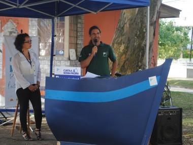 Projeto Pinípedes do Sul inaugura exposição fotográfica na Avenida Rio Grande