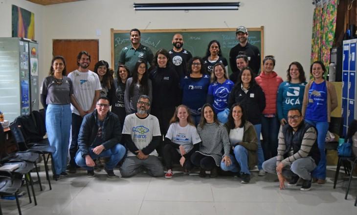 Projeto Pinípedes do Sul reúne projetos socioambientais em Encontro