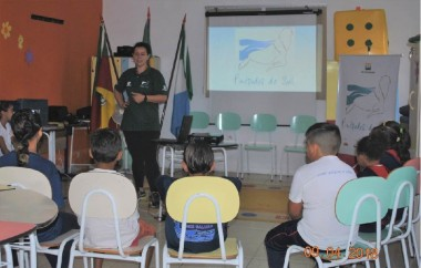 Projeto Pinípedes do Sul inicia atividades de Educação Ambiental
