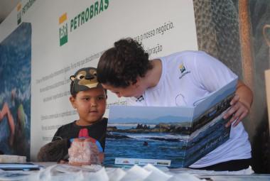 Projeto Pinípedes do Sul participa de Circuito Aqua em Florianópolis