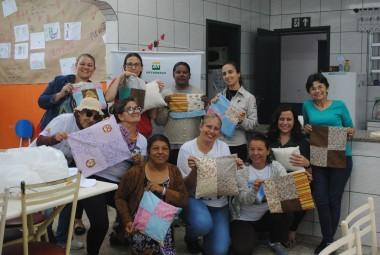 Projeto Pinípedes do Sul realiza oficina do Artesanato da Conservação