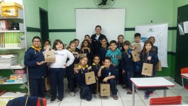 Projeto Pinípedes do Sul realiza atividades de educação ambiental